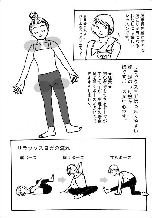 LAVAリラックスヨガの口コミ漫画