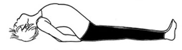ヨガ・魚のポーズ